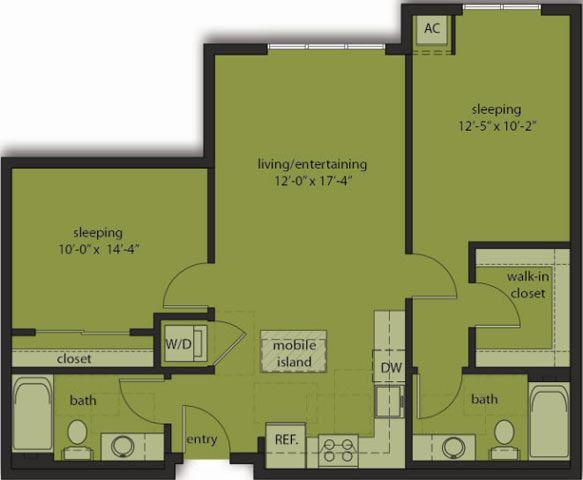 Two Bedroom D3