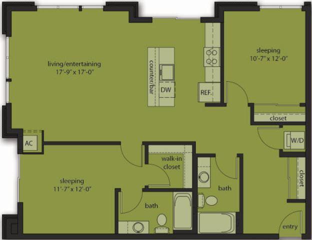 Two Bedroom E1