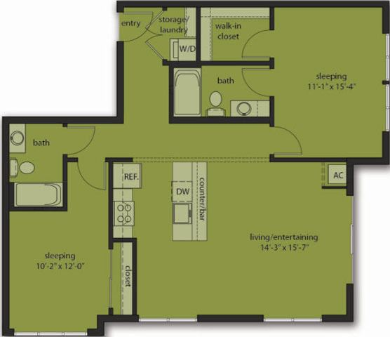 Two Bedroom E4