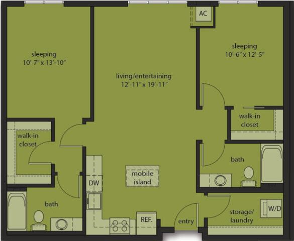 Two Bedroom E5