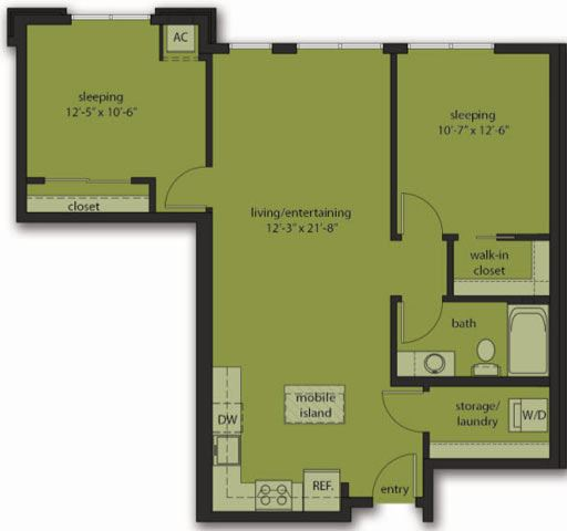 Two Bedroom E6