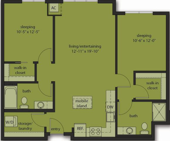 Two Bedroom E8