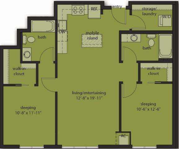 Two Bedroom E9