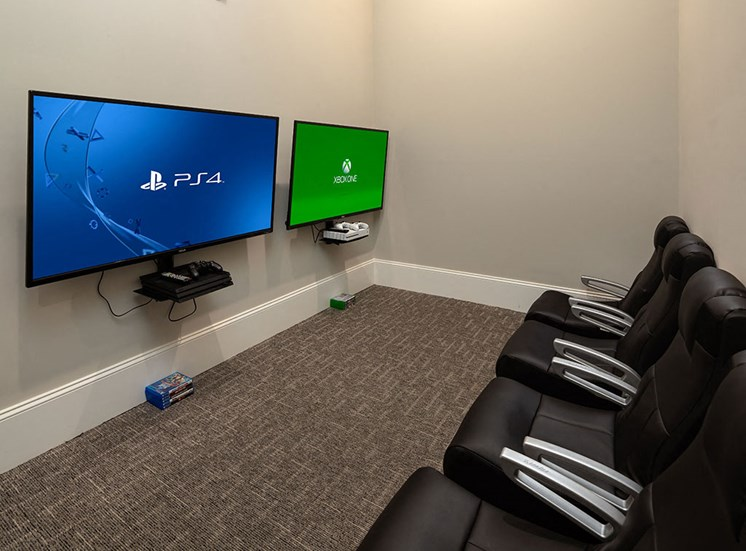 Multi-station Video Gaming Room with PlayStation & Xbox at The Villages at Westford, Apex