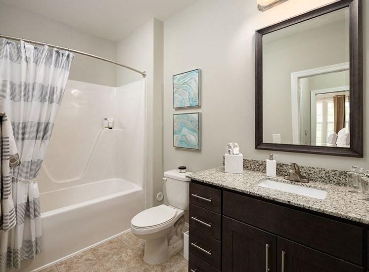 Bathroom  at Villages at Westford in Apex NC