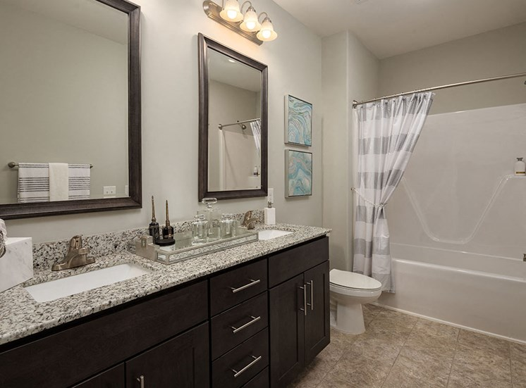Large Soaking Tub In Washroom at The Villages at Westford, Apex