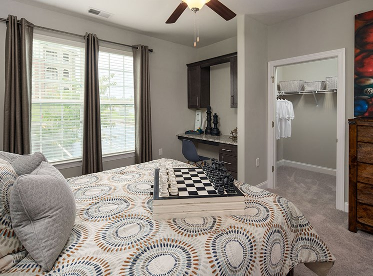Large Comfortable Bedrooms With Closet at The Villages at Westford, Apex, 27523