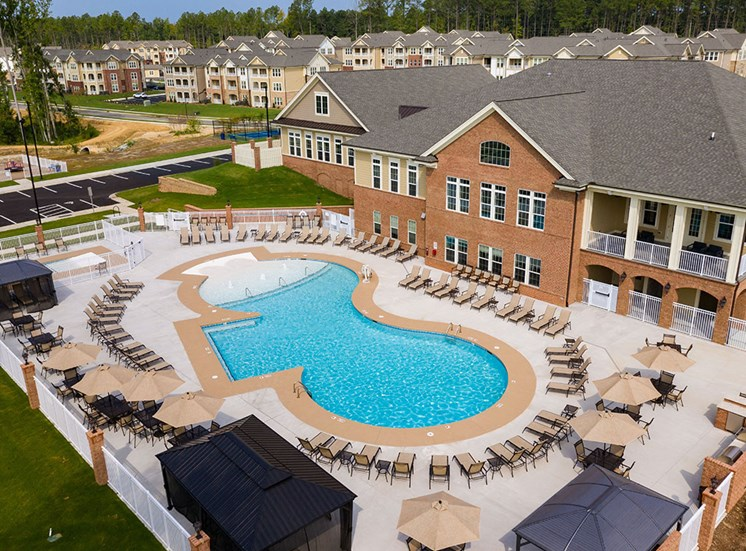 Invigorating Swimming Pool at The Villages at Westford, Apex