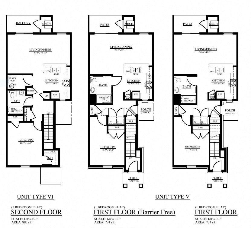 Oak Pointe Apartments: Floor Plans Of Midtown Pointe Apartments In Royal Oak, MI