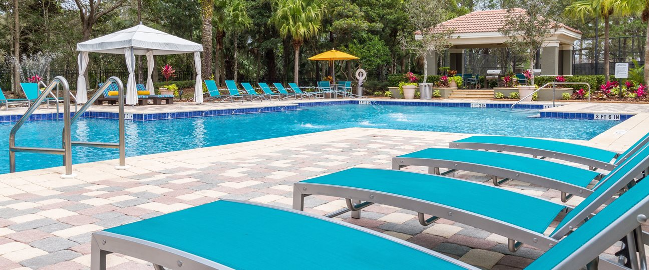 Swimming Pool at The Preserve at Tampa Palms Apartments in Tampa, FL