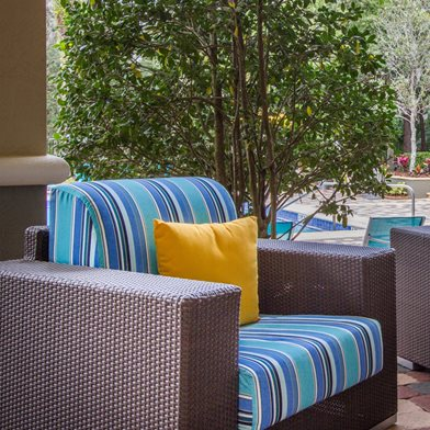 Outdoor Lounge at The Preserve at Tampa Palms Apartments in Tampa, FL