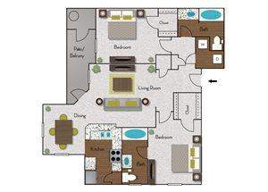 Cimarron floor plan