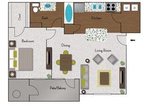 Taos floor plan
