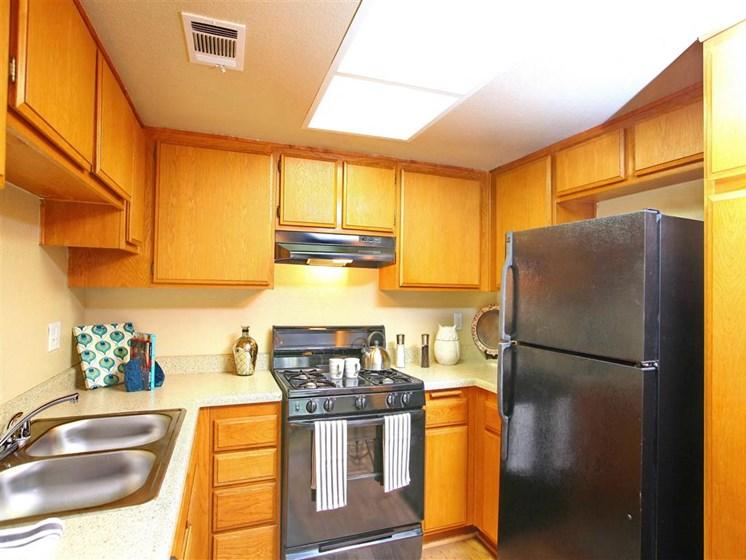 Model apartmenthome kitchen