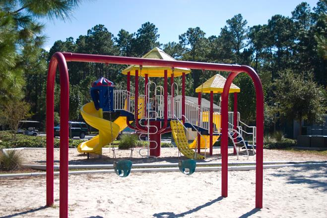 Children's Play Area at Whispering Woods, Florida