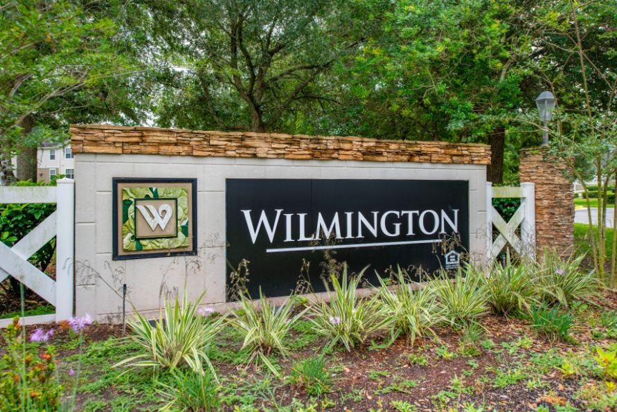 Wilmington Entrance Sign