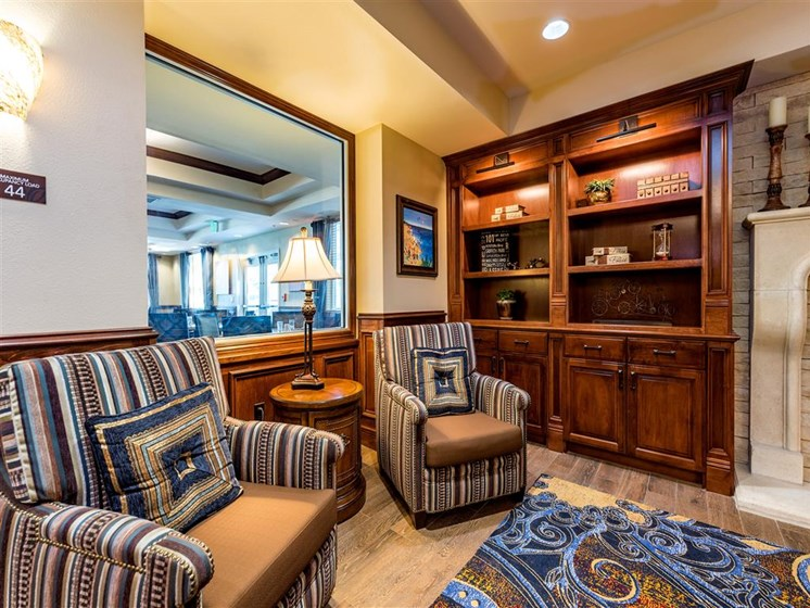 Elegant Lounge Seating  at Pacifica Senior Living Oxnard, California, 93036