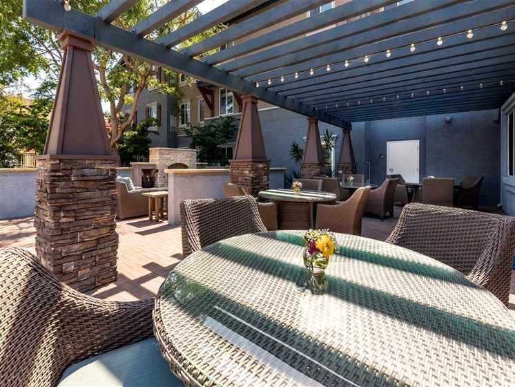 Spacious Outdoor Deck at Pacifica Senior Living Oxnard, Oxnard, 93036