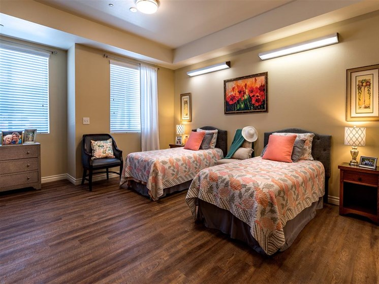 Double Room with Sunny Window  at Pacifica Senior Living Oxnard, Oxnard, CA