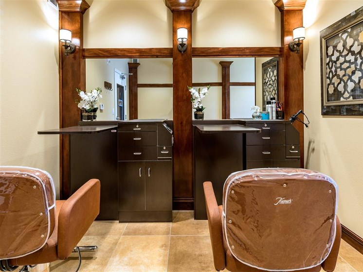 Luxury Beauty Salon   at Pacifica Senior Living Oxnard, Oxnard, California