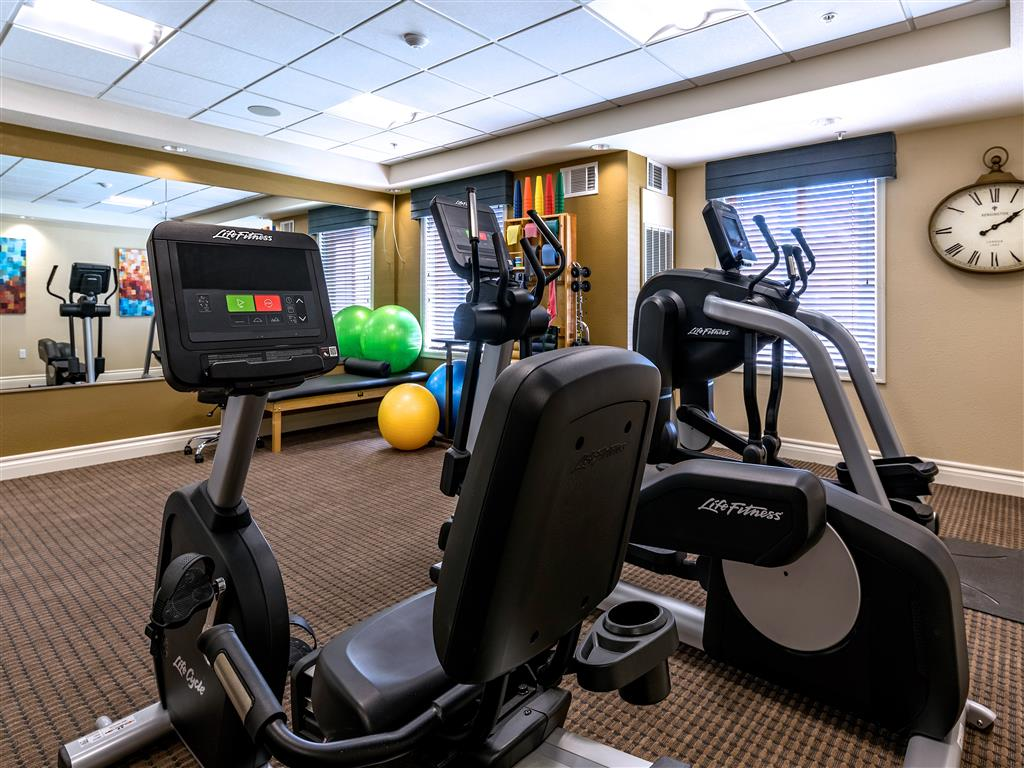 Cycling Machines in Fitness Center  at Pacifica Senior Living Oxnard, Oxnard, 93036