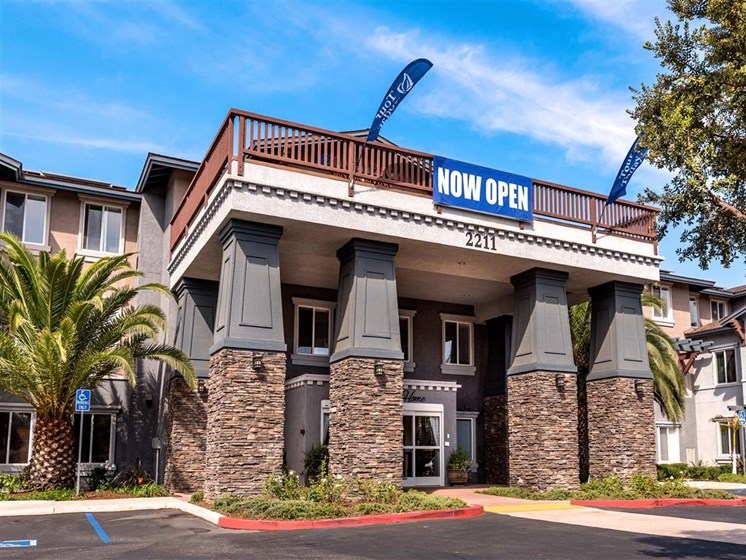 Grand Opening of Community Entrance at Pacifica Senior Living Oxnard, Oxnard, CA