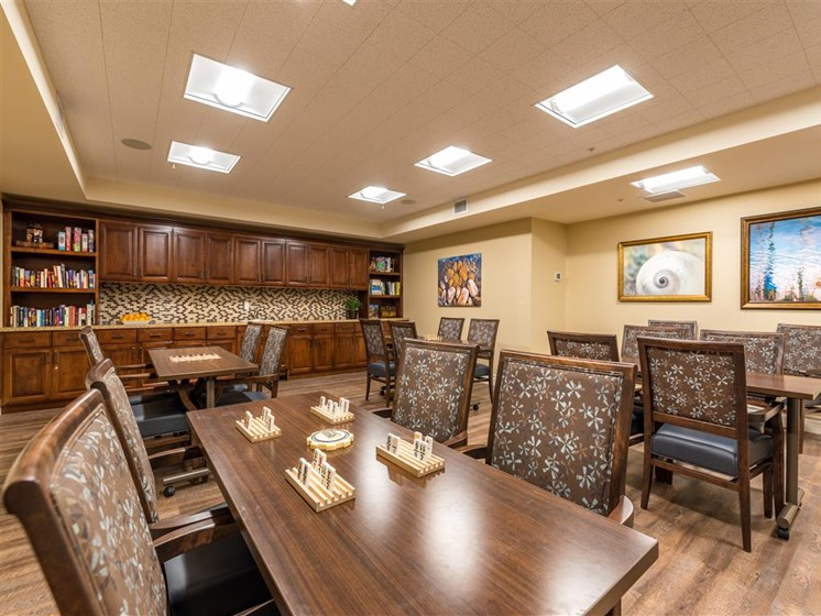 Spacious Meeting Room at Pacifica Senior Living Oxnard, Oxnard, CA