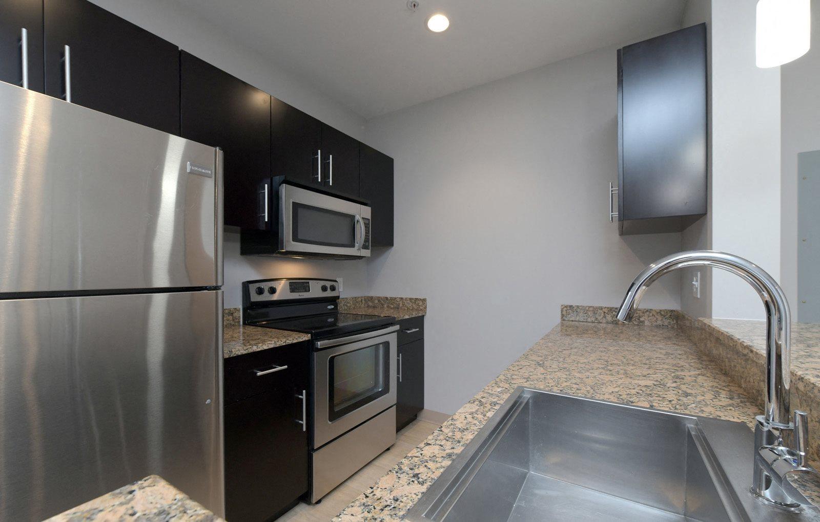 Model Kitchen Renaissance Station North Apartments Attleboro, MA