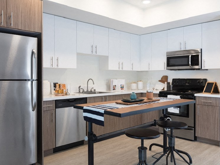 Interior model kitchen