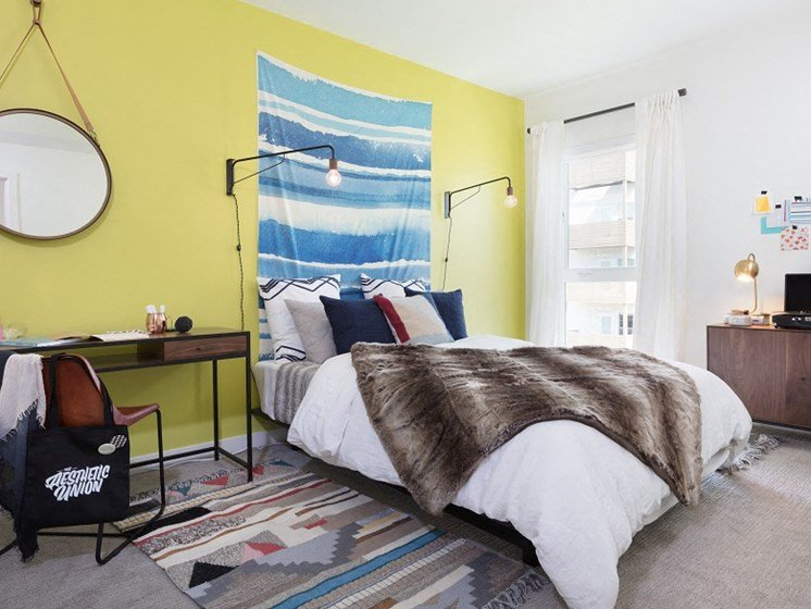 Interior model bedroom