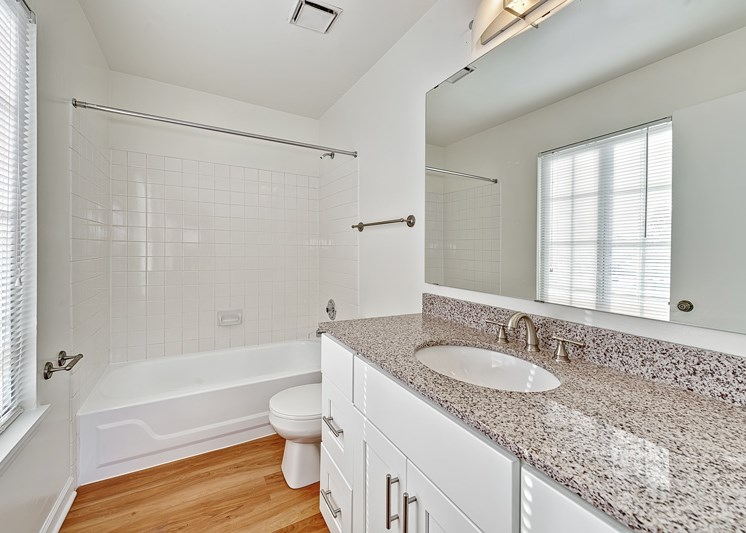 Plantation 2Bed, 2Bath - Master Bathroom 1070 s.f.