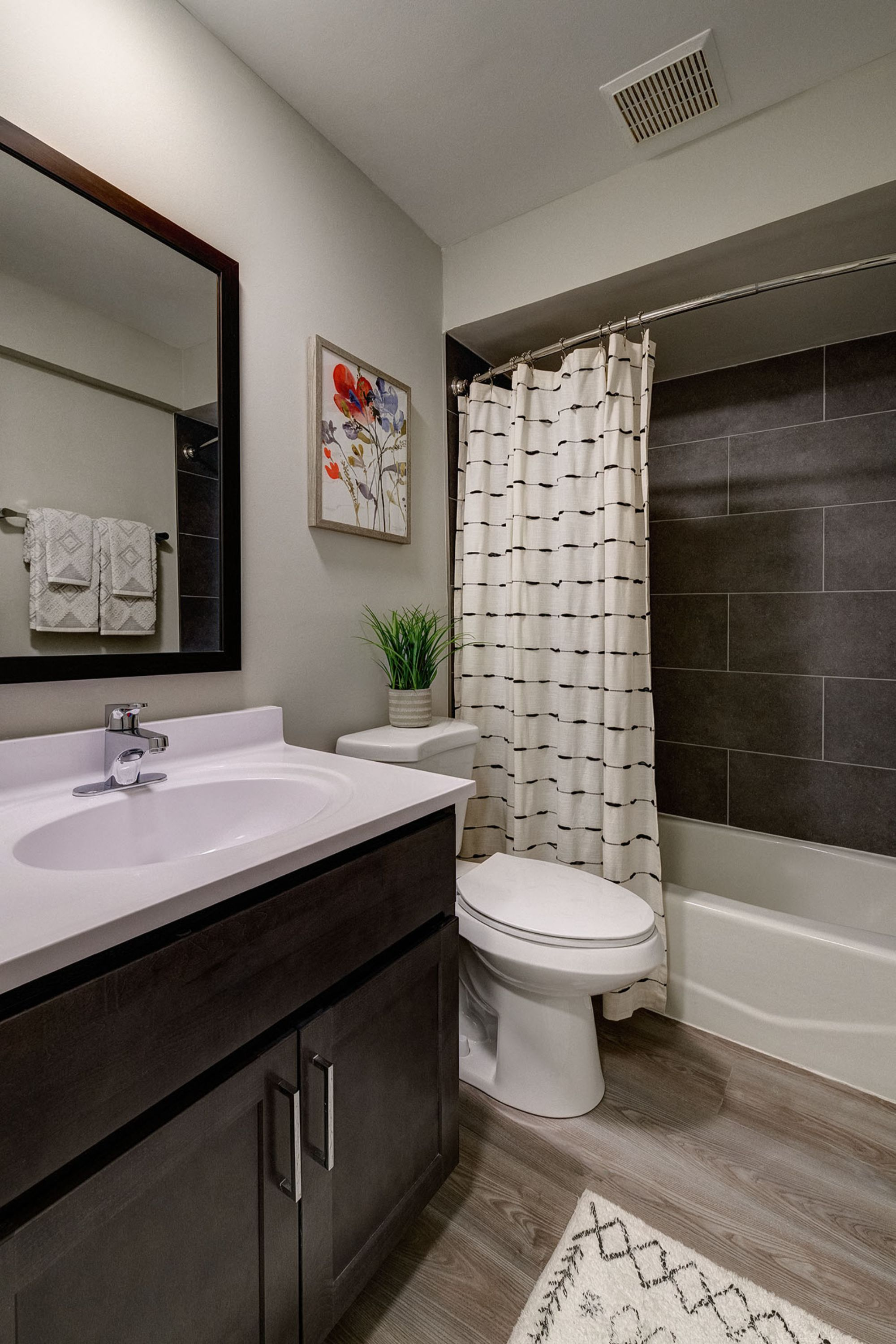 Soaking Tubs With Ceramic Tile at Westmont Village, Westmont, Illinois