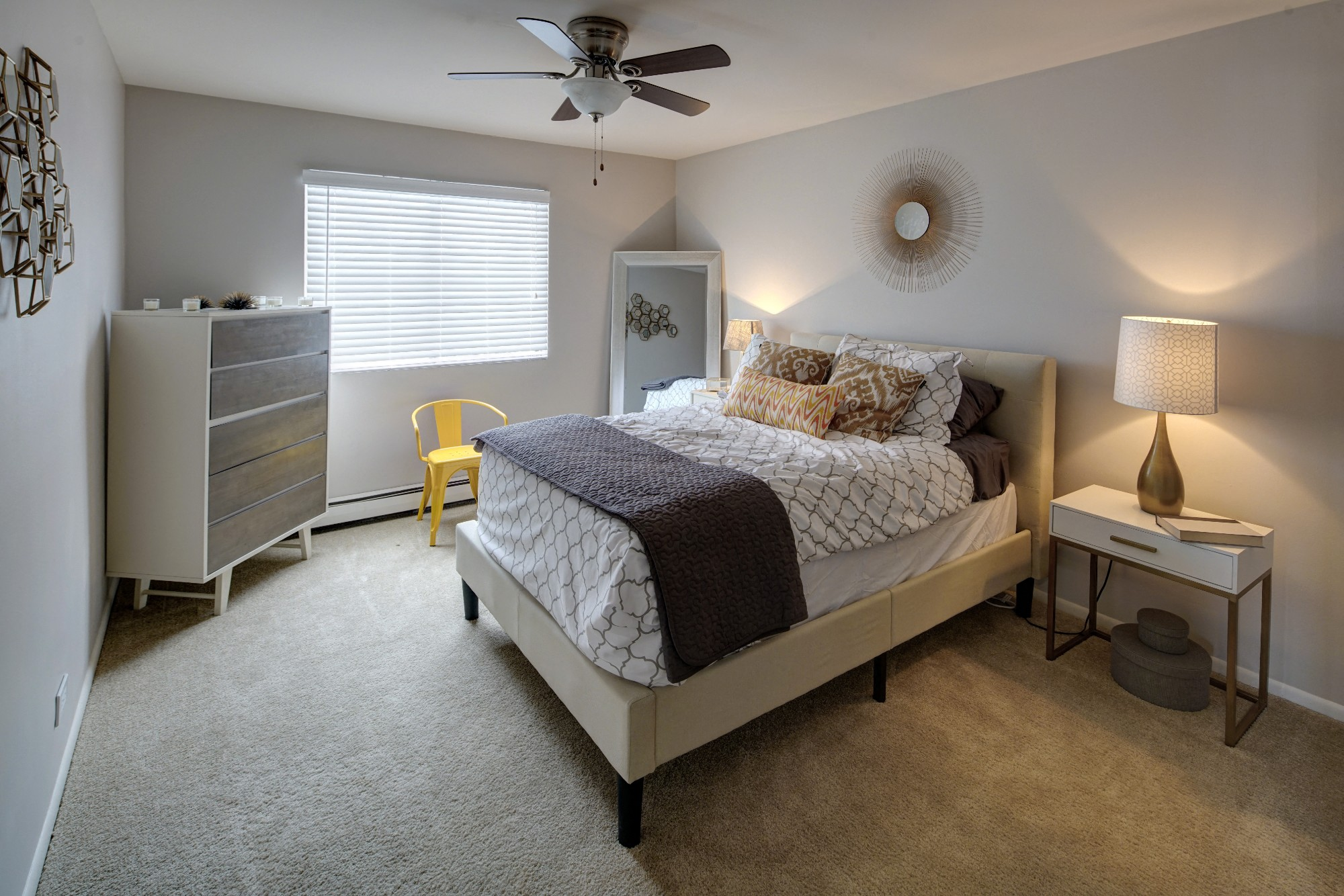 Large Master Bedrooms at Westmont Village, Illinois