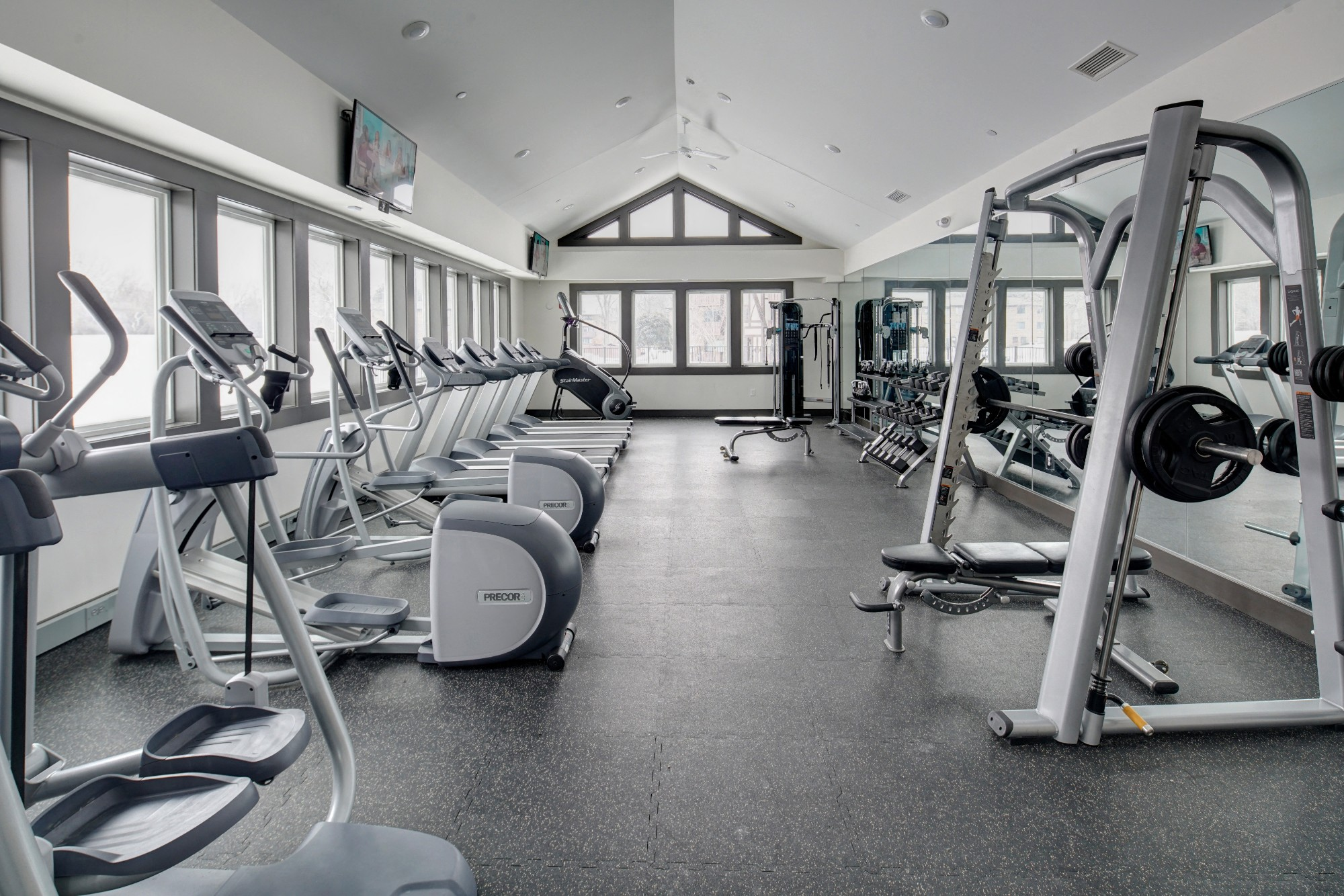 State-of-the-art Fitness Center at Westmont Village, Westmont