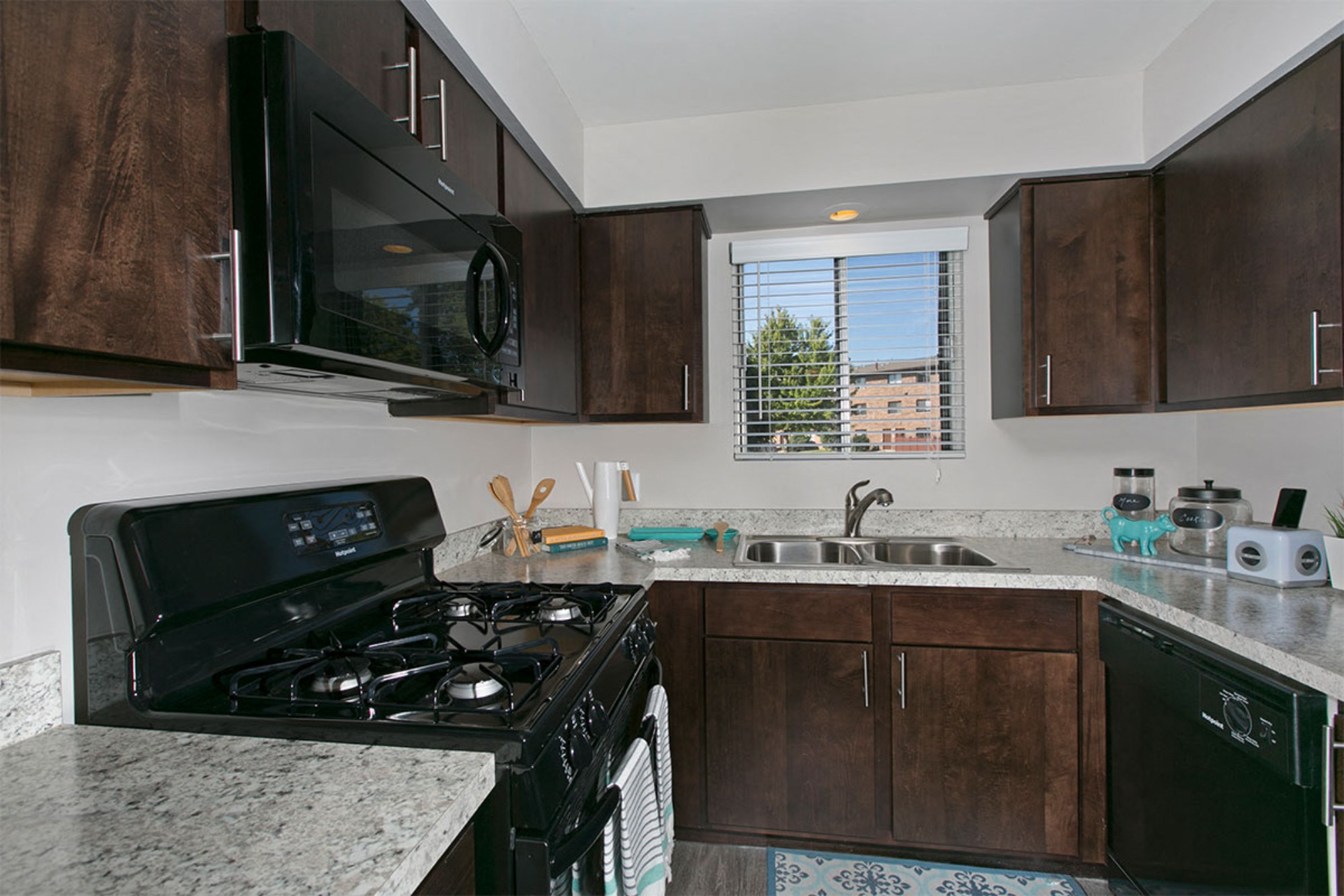 Fully Equipped Kitchen at Westmont Village, Westmont, IL