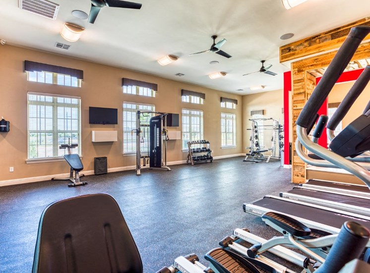 Fitness Center, at Carroll at Rivery Ranch, Georgetown