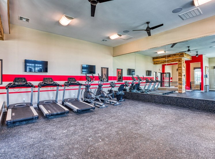 High Endurance Fitness Center, at Carroll at Rivery Ranch, Texas