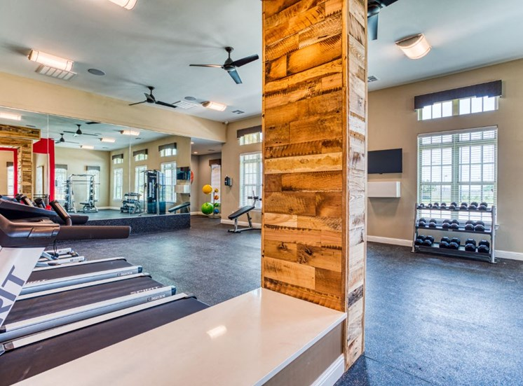 State-of-the-Art Fitness Center, at Carroll at Rivery Ranch, Georgetown, 78628