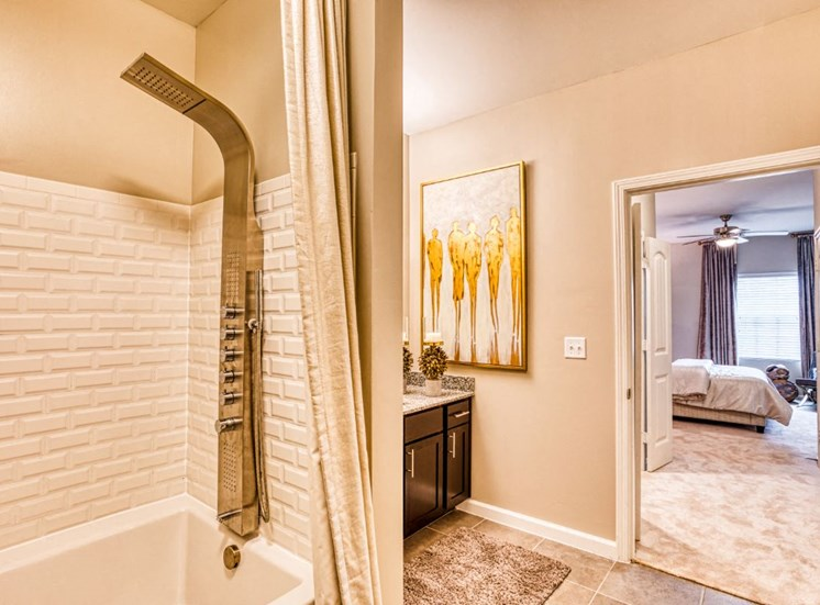Designer Bathroom Suites, at Carroll at Rivery Ranch, Texas