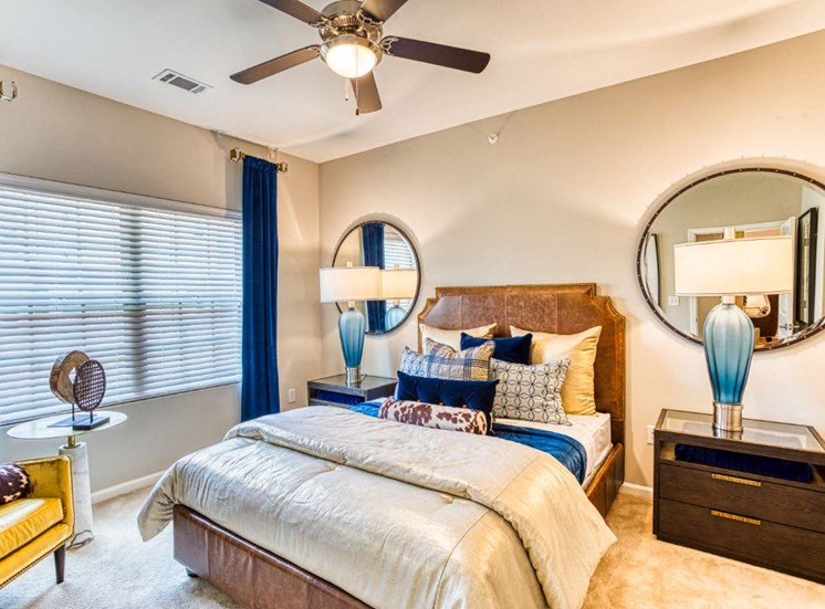Comfortable Bedroom With Large Closet, at Carroll at Rivery Ranch, Texas