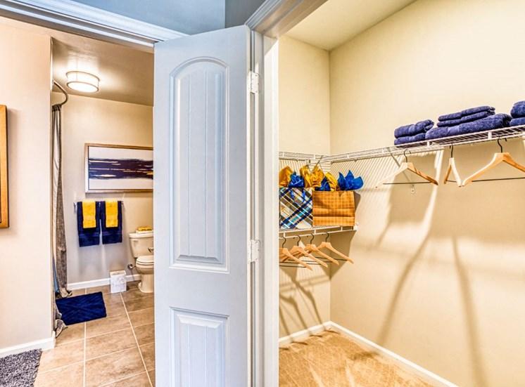 Exterior Storage Closets, at Carroll at Rivery Ranch, Georgetown, TX 78628