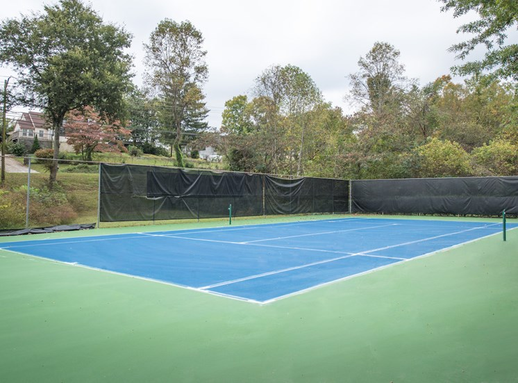 Steeplechase Apartments in Knoxville, TN tennis court