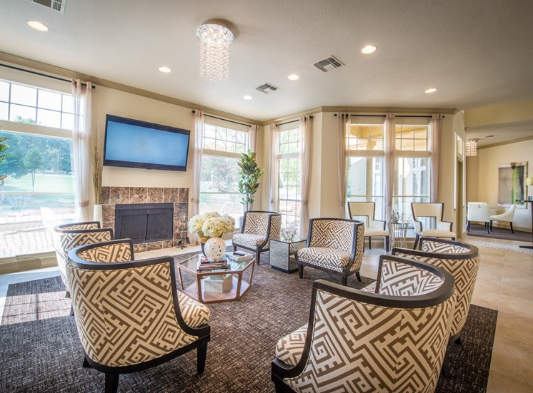 Steeplechase apartments in knoxville, TN clubhouse