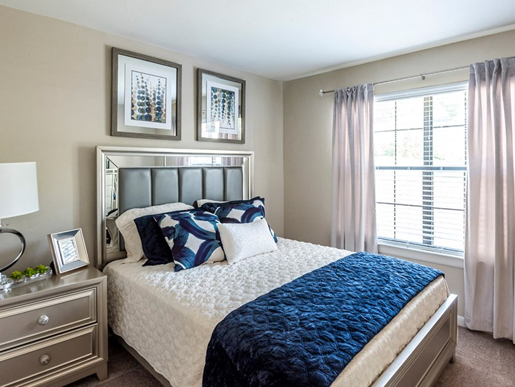 Bedroom at Vert at Six Forks Apartments