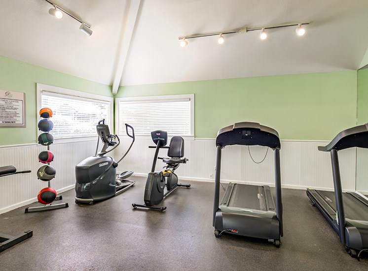 Fitness Center at Vert At Six Forks Apartments