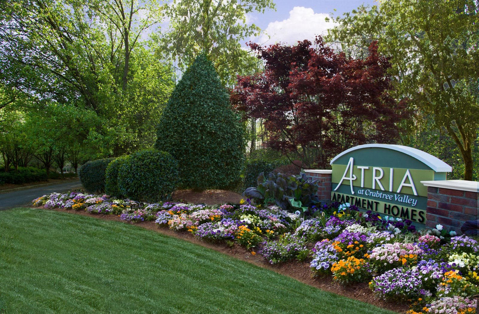 atria at crabtree valley logo | Atria at Crabtree Valley Apartments in Raleigh, NC