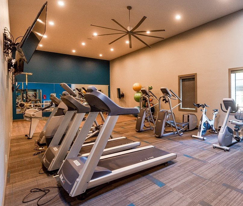 Tacoma Apartments - The Lodge at Madrona Apartments - Fitness Center
