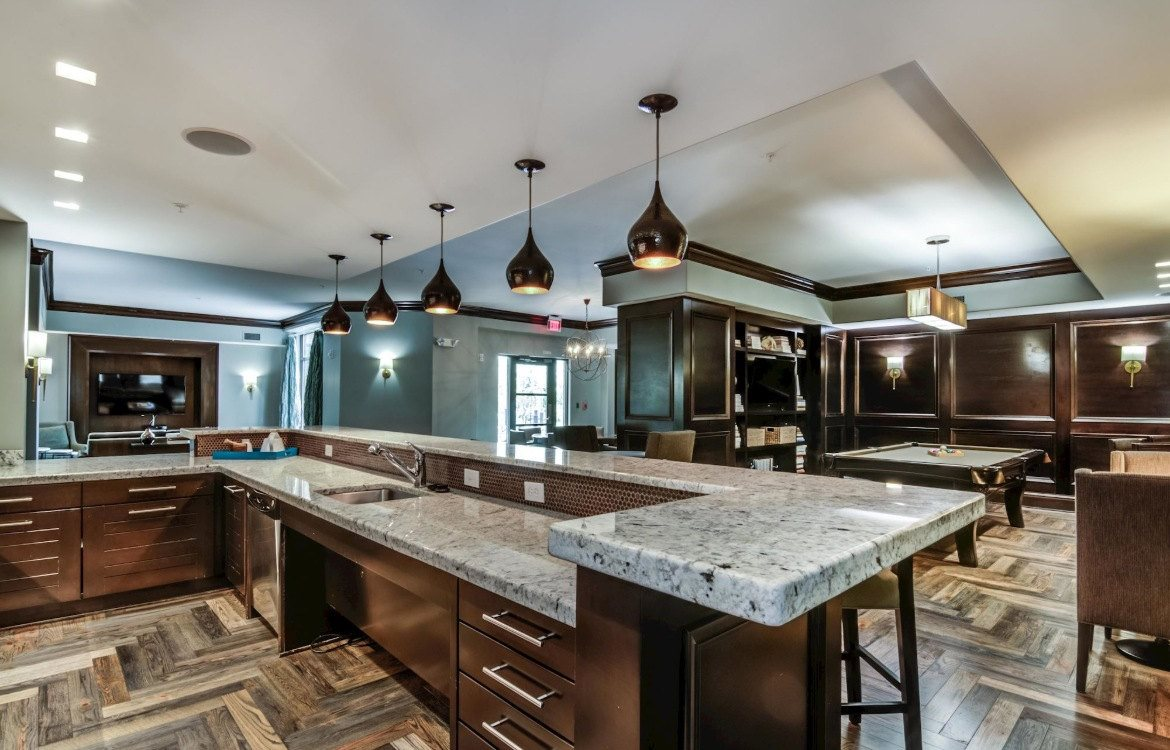 luxury apartments with granite countertops