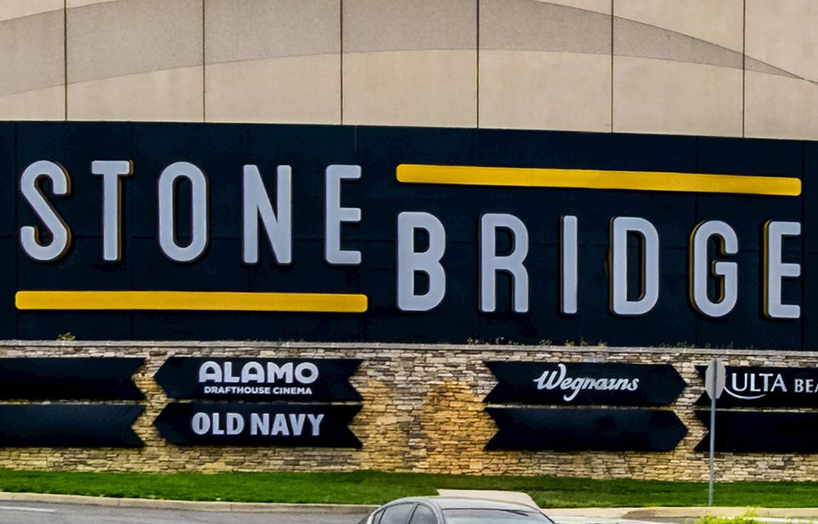 Stone bridge shopping center