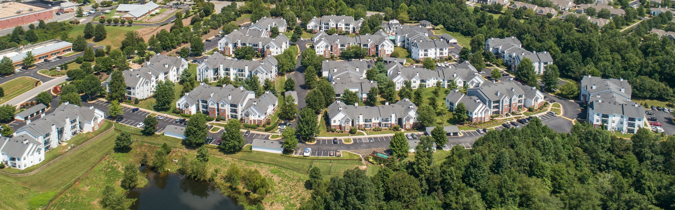 Swift Creek Commons Apartments - Aerial photo of property